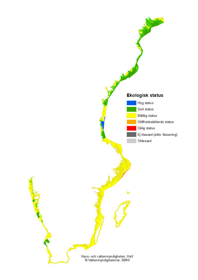Ekologisk status i kustvatten